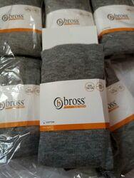 Однотонные колготки bross модель унисекс