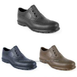 Непромокаемые туфли-Оксфорды из ЭВА, р. 40-45