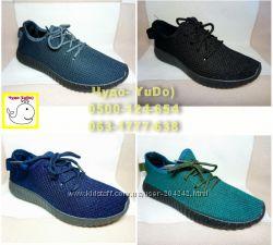 Текстильные кроссовки, р. 40-45, маломерные