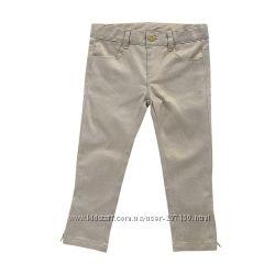 Новые золотые брюки джинсы Chicco на рост 98