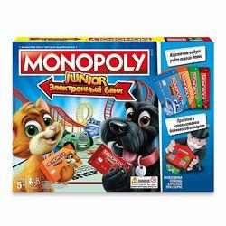 Hasbro Монополия с банковскими картами  детская версия