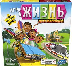 Настольные игры Hasbro Игра в жизнь Junior