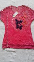 Модная летняя блуза DARKWIN, Турция, 50-52 р-р