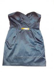 Маленькое тёмно-синее платье, р-р 48-50