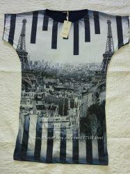 Необычная туника-платье, р-р 48-50