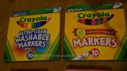 Крайола карандаши и фломастеры, краски
