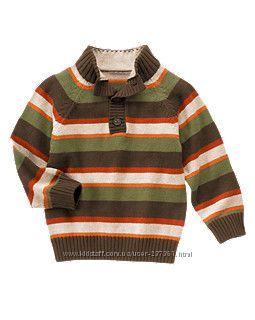 Модный свитер на пуговичках Gymboree в полосочку