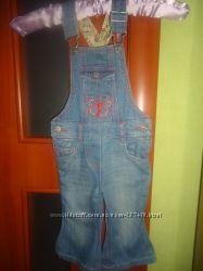 классный джинсовый комбинезончик