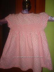 красивое вельветовое платье на девочку CHEROKEE