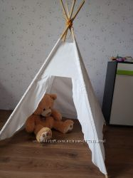 Вигвам дом палатка, ткань лен