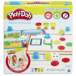 Набор Play-Doh Shape and Learn Numbers and Counting
