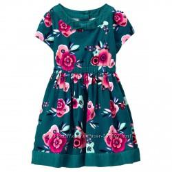 Нарядное платье Gymboree, размер 4Т и 5Т