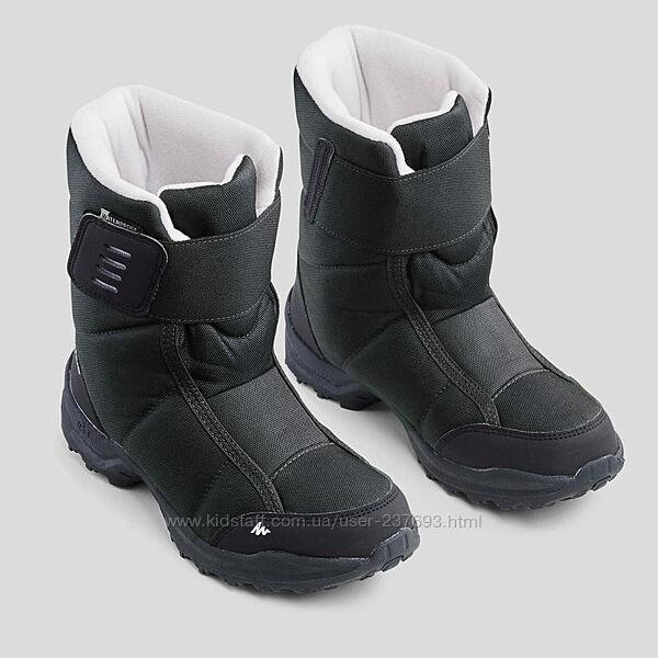 Чоботи дитячі QUECHUA. Ботинки, сапоги зимние 21,7 см