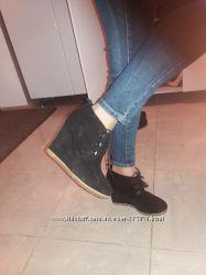 ботинки Steve Madden 24. 5 по стельке