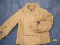 Стильная курточка дубленка демисезон фирма Ladybird