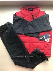 Комплект красная жилетка и брючки US Polo Assn