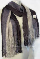Легкие шарфы, акрил, новые. Некондиция.