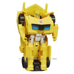 Hasbro Transformers. Машинки-трансформеры. 1-Step Changers Bumblebee Figure