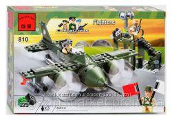 Конструктор BRICK 810 Военный самолет 225 дет