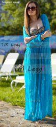 Шикарная туника для пляжа темно-синий гипюр, цвета и ткани в ассортименте