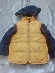Безрукавка і куртка-парка Carters  р.98