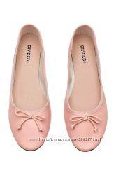 H&M   балетки, шлепанцы, мокасины