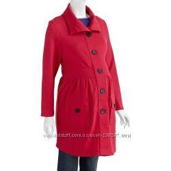 Эксклюзивное стильное легкое пальто для беременных Introspect из Америки