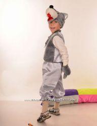 Карнавальный костюм Волка 3-6 лет 98-122 см прокат