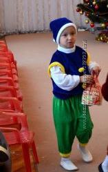 Карнавальный костюм Гнома 3-6 лет 98-110 см прокат