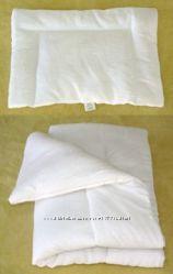 Комплект одеяло и подушка в детскую кроватку