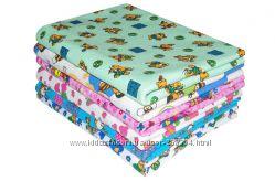 Детские пеленки ситец, фланель, трикотаж для новорожденных