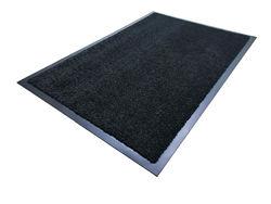 Придверный коврик Элит черный 90х120см.
