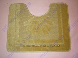 Набор ковриков для ванной бежевый