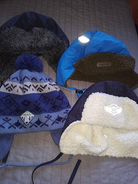 Зимние шапки на выбор
