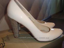 модные свадебные  туфли, 36. 5 размер