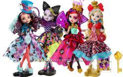 Куклы Ever After High  Китти Чешир, Мэдлин и Лиззи Хартс,