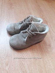 Замшевые ботинки на мальчика 26 размер