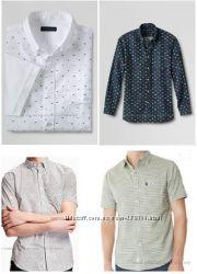 Единая цена. Брендовые  рубашки, р. М и р. С, с длин. и корот. рукавом