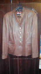 Кожанная куртка, р. 52 и тотальная распродажа гардероба