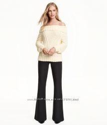 Скинула цену Женские классические брюки НМ Flared Pants, р 14 америк.