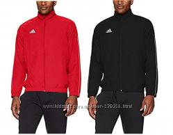 Adidas Jacket, олимпийка , черная и красная р. л