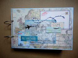 Летний альбом для фотографий про путешествия и отдых