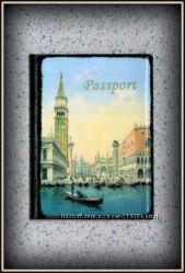 обложка для паспорта Венеция