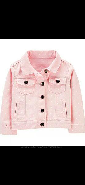 Джинсовая куртка от фирмы Картерс