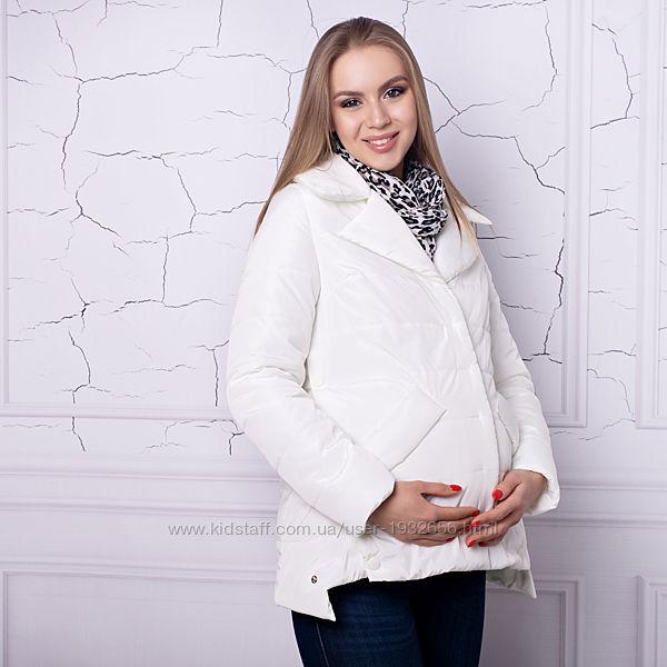 Весенняя куртка для беременных