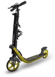 Двухколесный самокат колесо 210мм, Maraton Concept, аналог Dmax9, желтый
