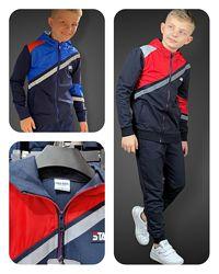 Спортивный костюм для мальчиков F&D, Star синий, 134-164