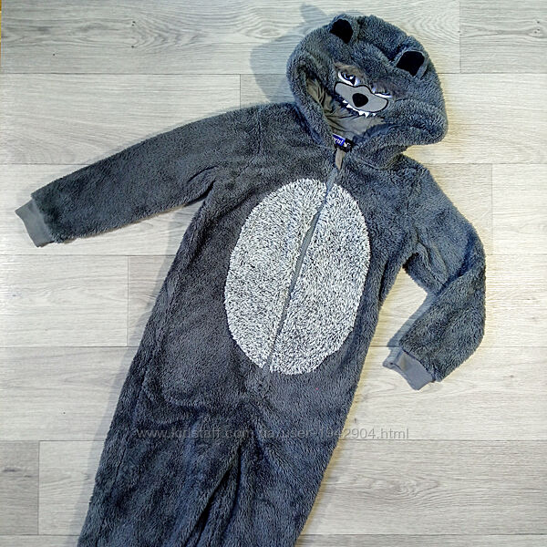 Теплая пижама кигуруми тепла піжама кігурумі Pepperts 122-128