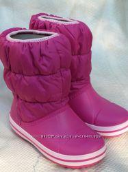 Crocs Kids Winter Puff Boot Сапоги зимние крокс оригинал