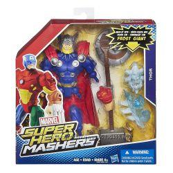 Marvel Super Hero Mashers Thor Figure Супергерои Тор разборной